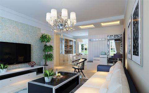客厅灯具现代简约风格装饰设计图片