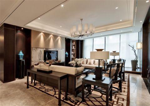 客厅走廊中式风格装饰图片