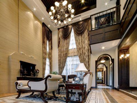 新古典风格230平米别墅室内装修效果图