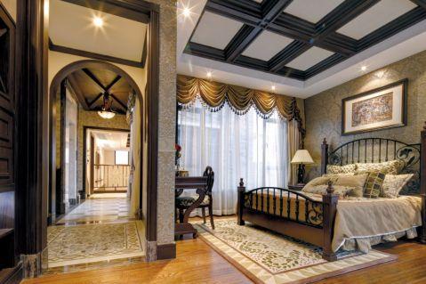 卧室吊顶新古典风格装潢设计图片