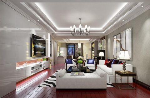 简约风格160平米大户型房子装饰效果图