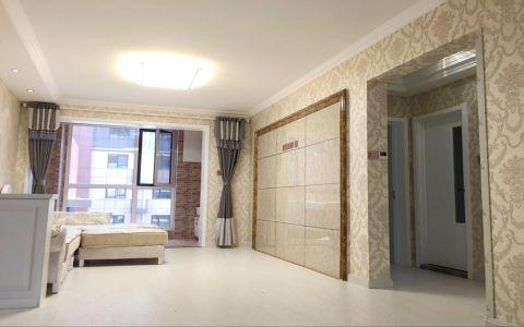 韩式风格90平米两室两厅室内装修效果图