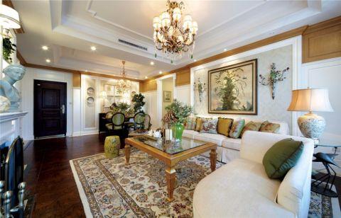 田园风格100平米32房2厅房子装饰效果图
