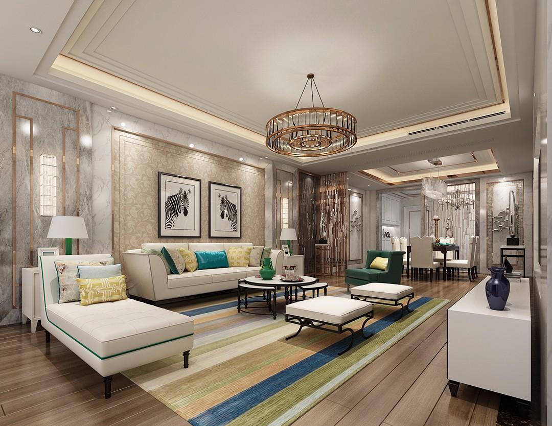 4室2卫2厅177平米欧式风格