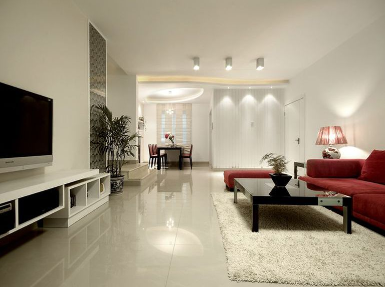 2室1卫1厅85平米现代风格
