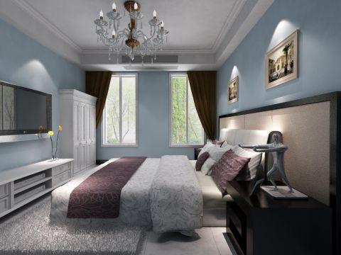卧室吊顶简约风格装修图片