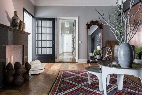 客厅推拉门现代风格装饰效果图