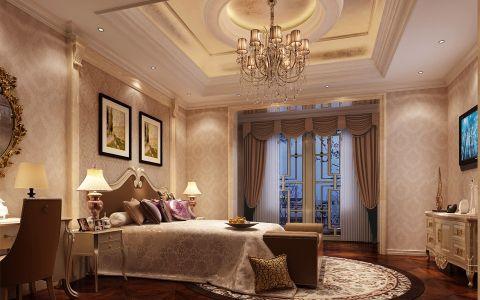欧式风格400平米别墅室内装修效果图