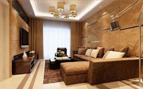 欧式风格120平米楼房新房装修效果图