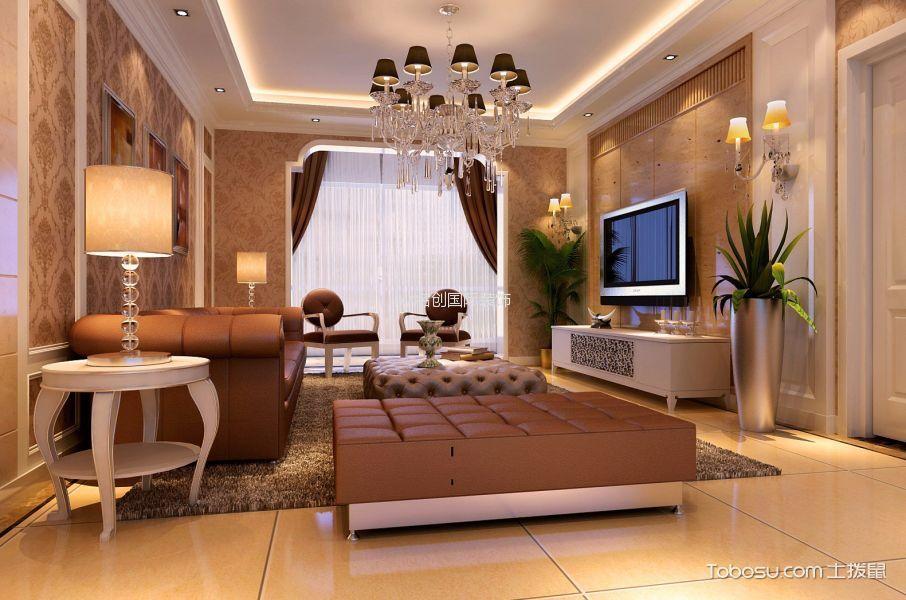 简欧风格139平米套房新房装修效果图
