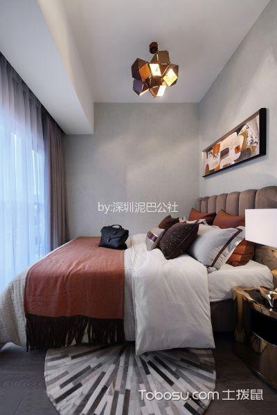 深圳领航城领翔90平米现代简约风格效果图