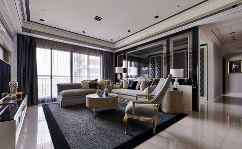 新古典风格180平米大户型房子装饰效果图图