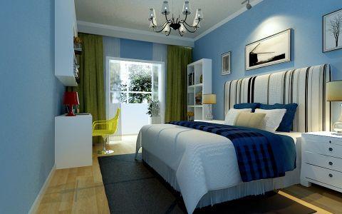 新中式风格150平米复式房子装饰效果图