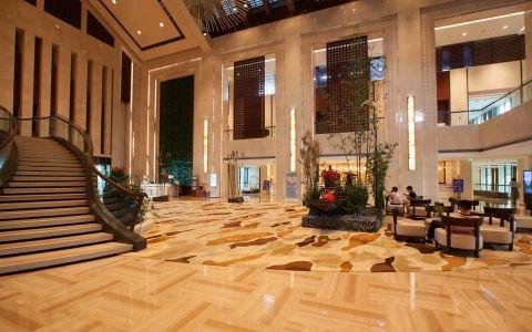 现代风格西溪宾馆装修效果图