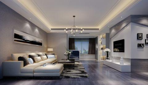 简约风格180平米套房室内装修效果图