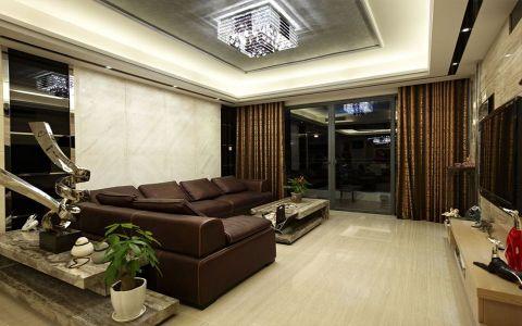 简约风格120平米楼房新房装修效果图