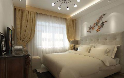 卧室背景墙简约风格装修设计图片