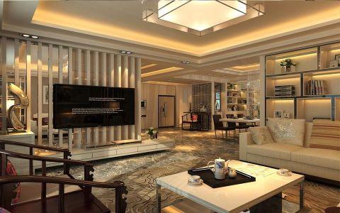 客厅茶几新中式风格装饰效果图