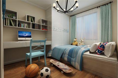 儿童房窗帘简约风格装饰设计图片