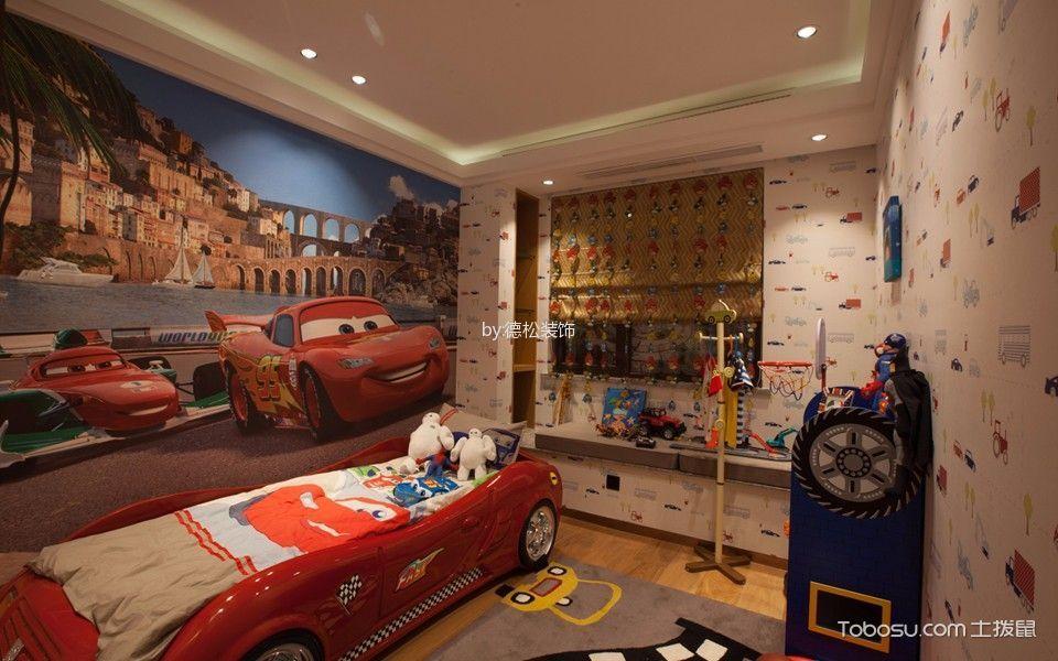 时代售楼部儿童房装潢图片欣赏
