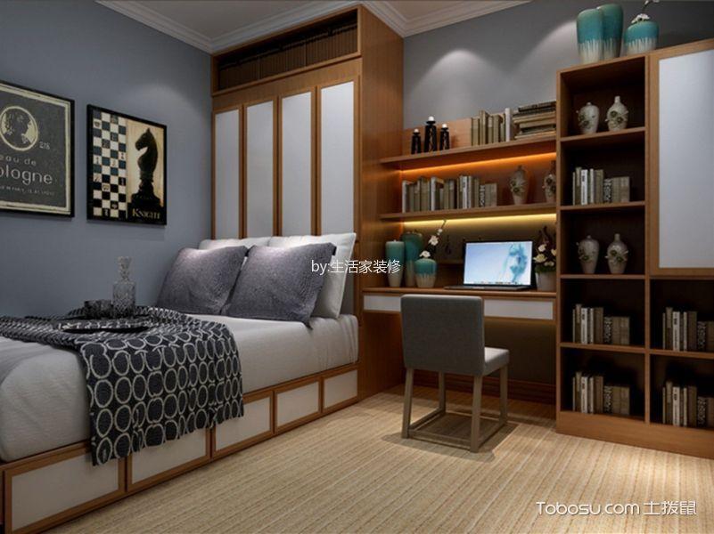 卧室 照片墙_玉泉龙苑110㎡东南亚风格效果图