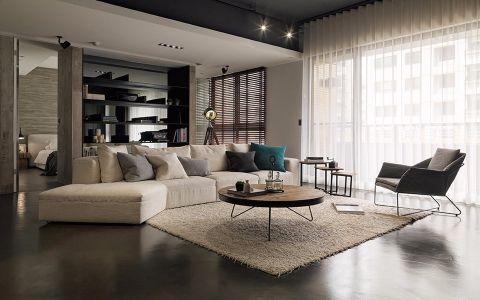 国宾一号现代风格四居室装修效果图