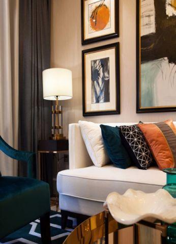 客厅茶几混搭风格装饰图片