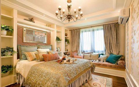 卧室博古架欧式风格装修效果图
