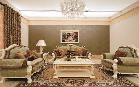 法式风格170平米四室两厅室内装修效果图