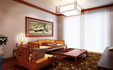 简中风格170平米大户型新房装修效果图