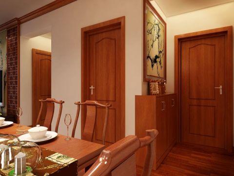 餐厅餐桌简中风格装潢图片