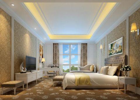 简欧风格50平米公寓新房装修效果图