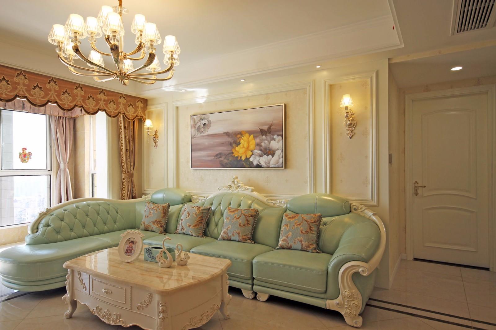 4室2卫2厅132平米简欧风格