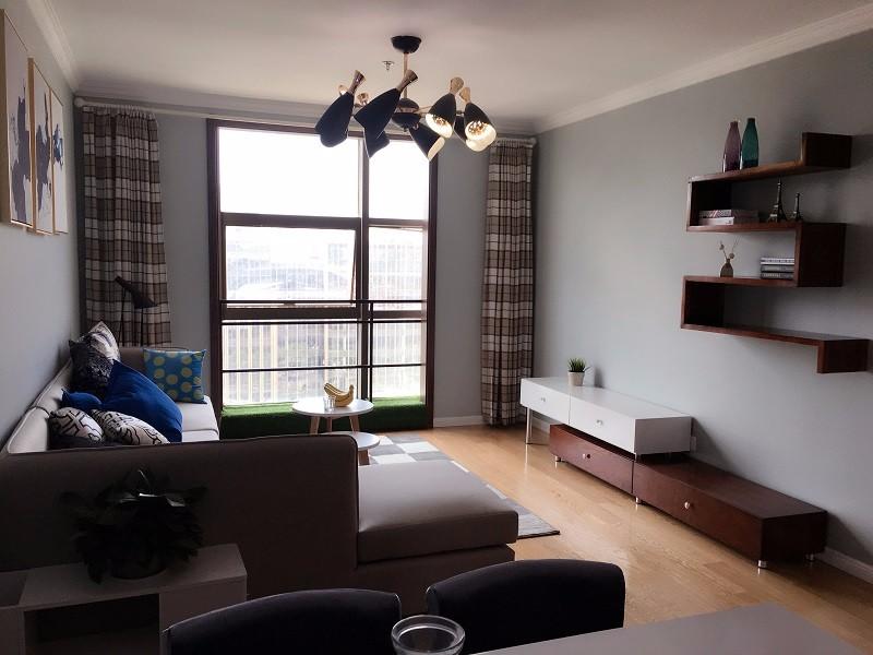 1室1卫1厅68平米简约风格