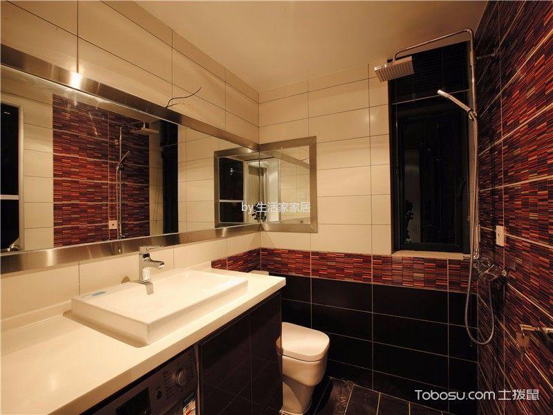 卫生间 吊顶_后现代风格165平米大户型新房装修效果图