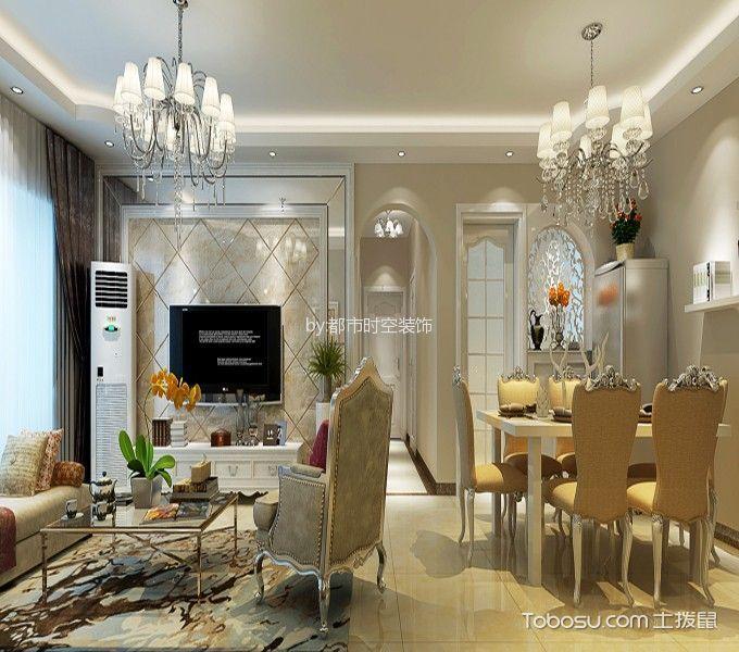 餐厅米色走廊现代风格装潢图片