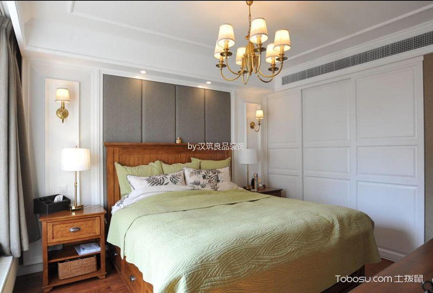 卧室 背景墙_盛世天城简欧风格套房效果图