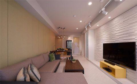 紫金公寓现代风格效果图