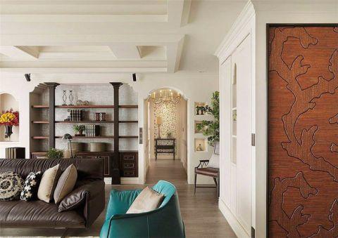 客厅吊顶新古典风格装饰设计图片