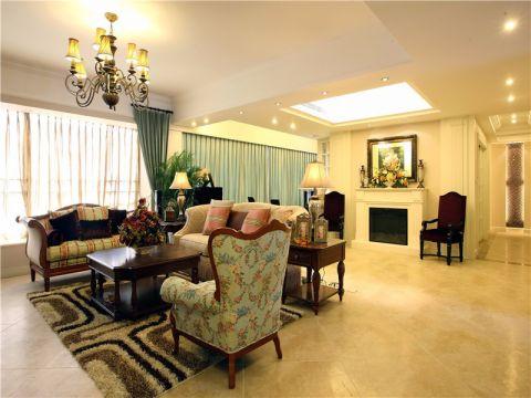 美式风格260平米套房新房装修效果图