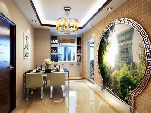 餐厅新中式风格效果图