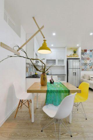 华润国际社区两居室北欧风格装修效果图