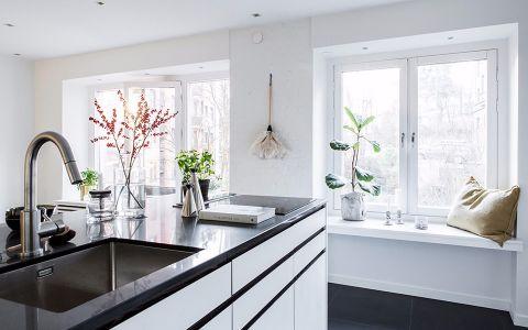 厨房窗台现代简约风格效果图