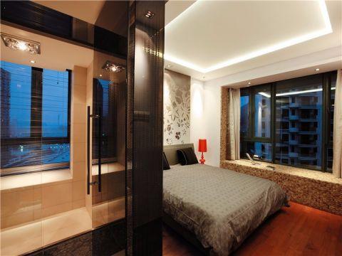 卧室吊顶后现代风格装修效果图