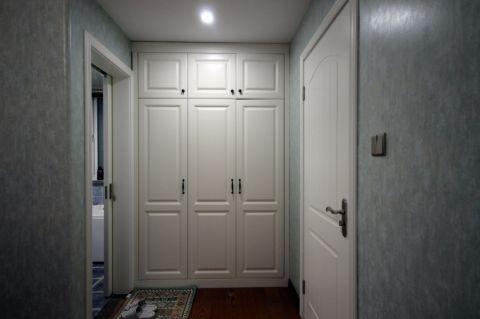卫生间走廊美式风格装修图片