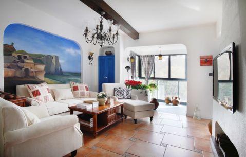 2020地中海90平米装饰设计 2020地中海二居室装修设计