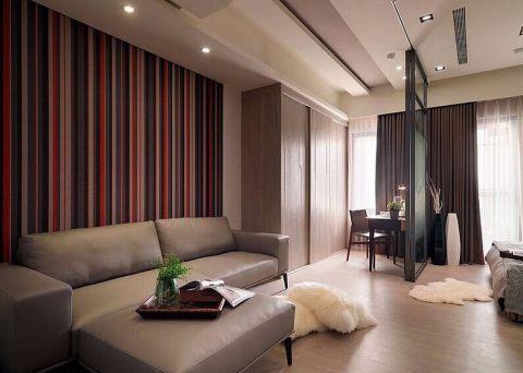 简约风格80平米公寓房子装饰效果图