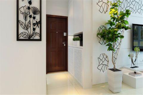 玄关背景墙简约风格装饰效果图