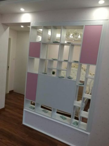 卧室博古架现代简约风格装修图片