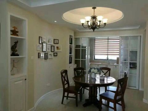 美式风格150平米套房室内装修效果图